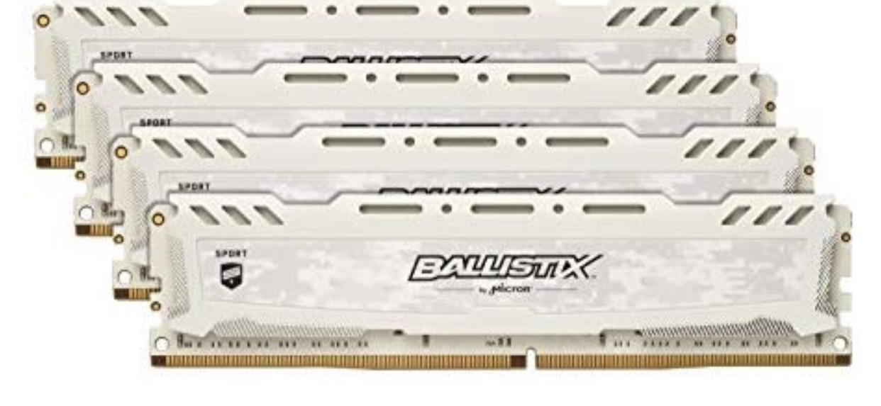 Ballistix TM Sport LT 32GB Kit DDR4-2666 (4x 8 GB)