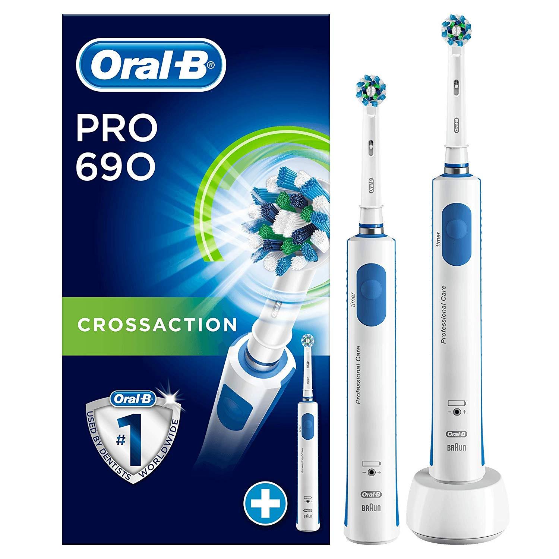 0815.at Oral-B PRO 690 mit 2. Zahnbürste