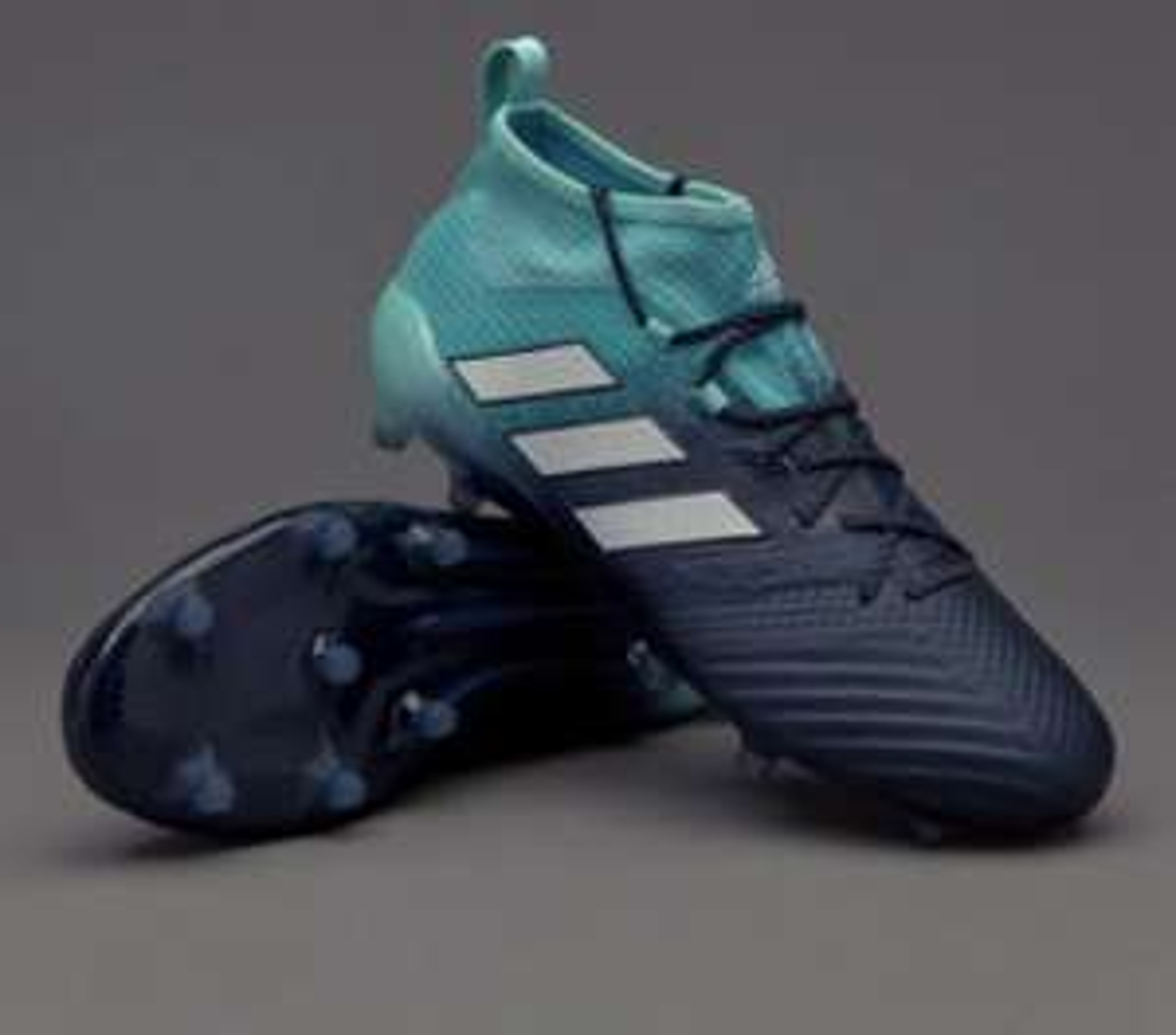 adidas ACE 17.1 FG Primeknit Fußballschuhe blau