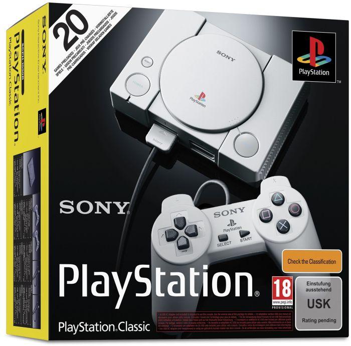 SONY PlayStation Classic inkl. 2 Controller (versandkostenfrei)