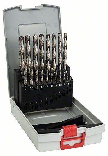 Bosch HSS-G Spiralbohrer-Set 19-tlg.
