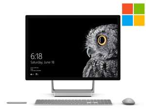 Microsoft Surface Studio, Core i7-6820HQ, 16GB RAM, Hybrid 1TB HDD + 128GB SSD, GeForce GTX 965M - Certified Pre-Owned