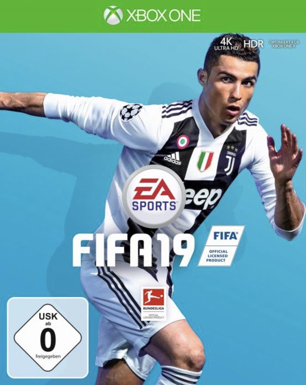 Fifa 19 für PlayStation 4 oder Xbox One. Gamestop Eintauschlistenartikel