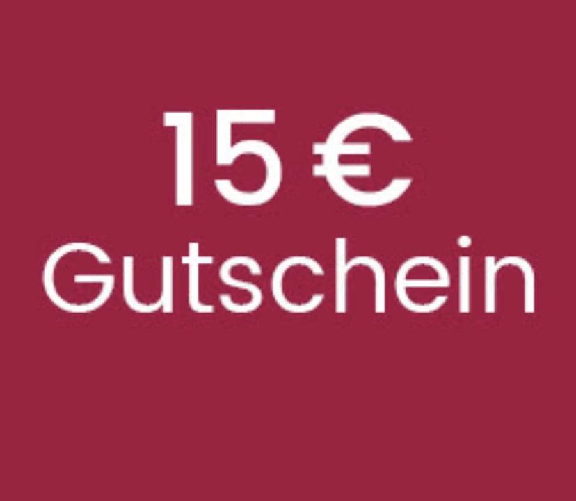 15€ Gutschein ab 60€ Einkaufswert (Universal)
