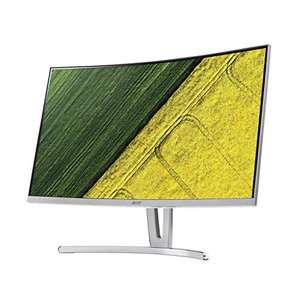 Acer ED273wmid 68,6 cm (27 Zoll) Multimedia Curved Monitor (Full HD, 1.920 x 1.080, 75hz, 4ms Reaktionszeit, ZeroFrame, DVI, HDMI)