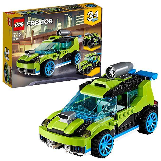 LEGO Creator 3in1 - Raketen-Rallyeflitzer