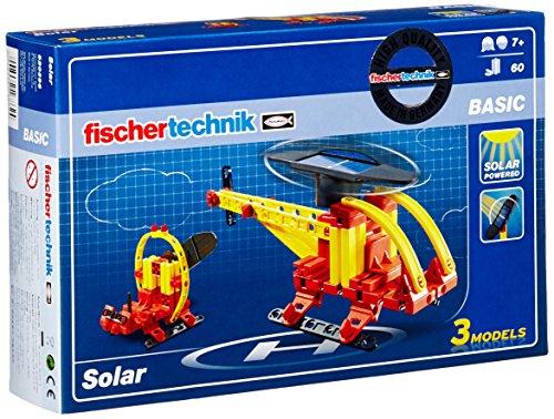 [PreisjägerJunior] fischertechnik BASIC Solar, Konstruktionsbaukasten - 520396