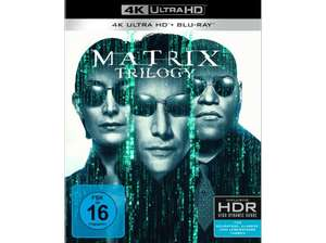 [Saturn] MATRIX TRILOGIE 4K Ultra HD + Blu-ray