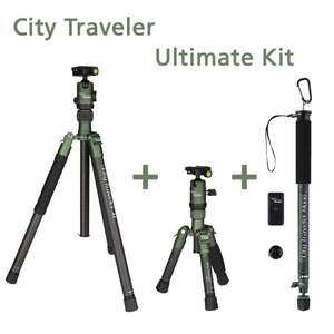 Rollei Welt-Foto-Tag Aktion: City Traveler Ultimate Kit für sehr gute 98€