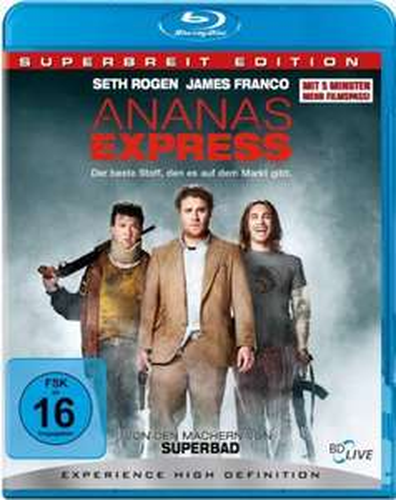 [Amazon] Ananas Express - Superbreit Edition Blu Ray