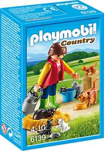 Playmobil - Bunte Katzenfamilie