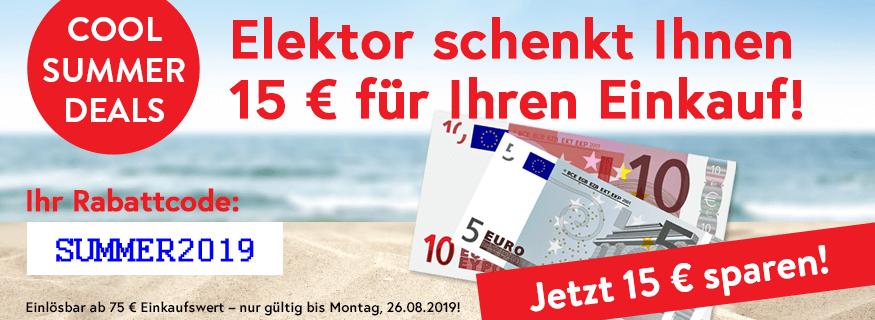 Für Elektroniker: - €15 ab €75 bei Elektor