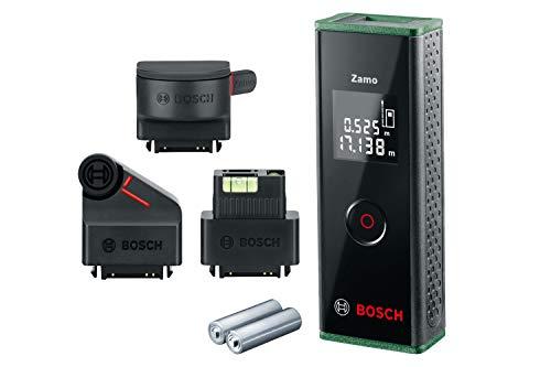 Bosch Laser Entfernungsmesser Zamo Set (3. Generation, Messbereich: 0,15 – 20,00 m)
