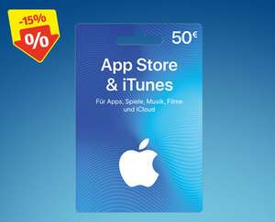 Apple iTunes Geschenkkarten - bei Hofer in Aktion