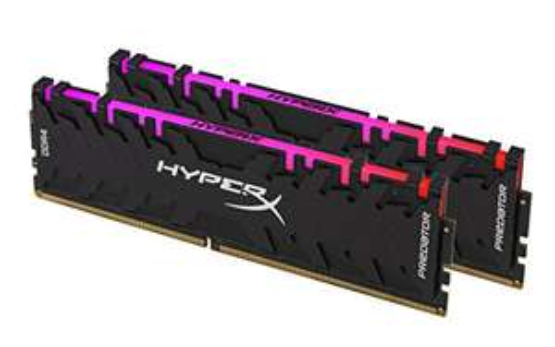 HyperX HX432C16PB3AK2/16 Predator Arbeitsspeicher, DDR4, 16GB (Kit 2x 8GB), 3200MHz, CL16, DIMM XMP - RGB