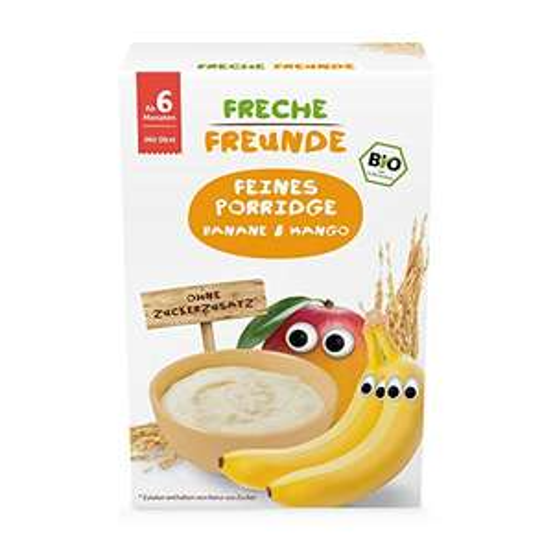 Freche Freunde - Bio Porridge Banane & Mango (8x180g)