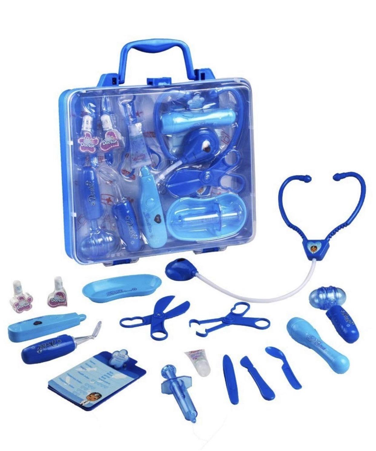 Kinderarztkoffer mit Krankenschwester Zubehör