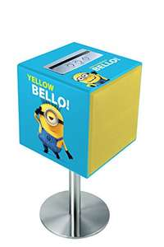 www.AMAZON.de  l  Minions Bluetooth Box -  Lexibook BTC100DES - Minions Sound Cube