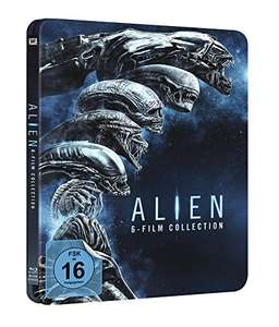 [Amazon] Alien 1-6 Blu Ray Steelbook