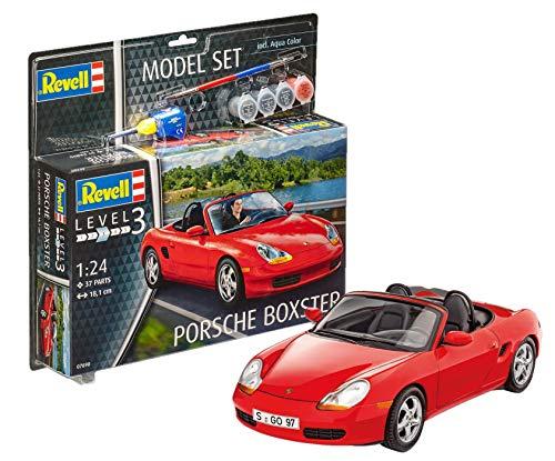 [Amazon] Revell Modellbausatz Auto 1:24 - Porsche Boxster im Maßstab 1:24, Set