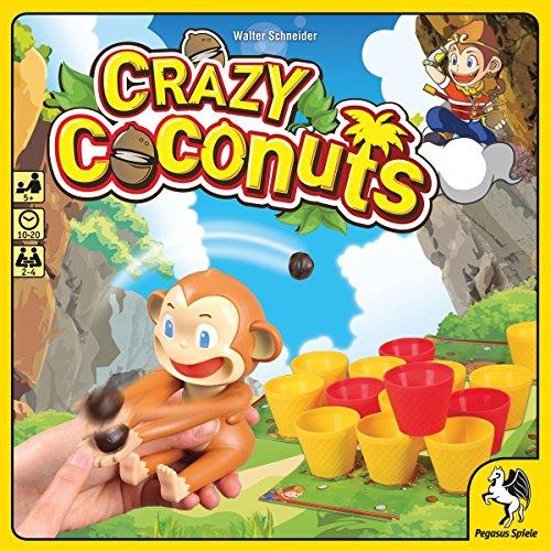 Pegasus Crazy Coconuts Brettspiel