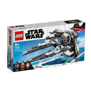 LEGO Star Wars Episoden I-VI - TIE Interceptor Allianz-Pilot (75242)