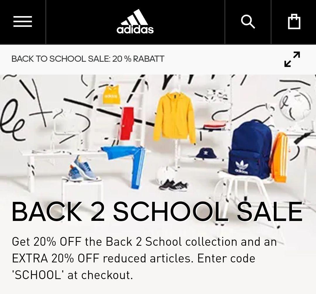 [sportlicher Preisjäger] -20% auf 4200 Artikel bei Adidas