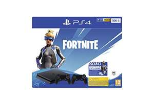 PlayStation 4 Slim (500GB) + 2 Controller + Fortnite Neo Versa