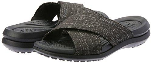 "Crocs ""Capri Shimmer Xband W"" Damen Sandalen"