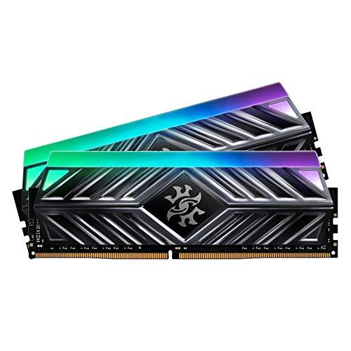 www.AMAZON.de l  ADATA XPG SPECTRIX D41 16GB (2x8GB) DDR4 3000MHz Gaming-Arbeitsspeicher mit Heatsink, XMP 2.0, titangrau