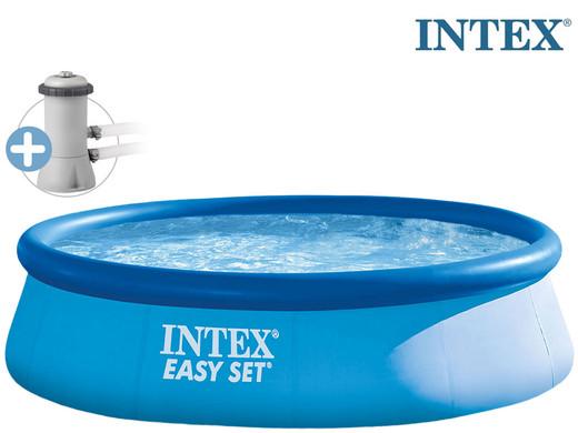 Intex Easy Pool mit Filterpumpe (396 x 84 cm)