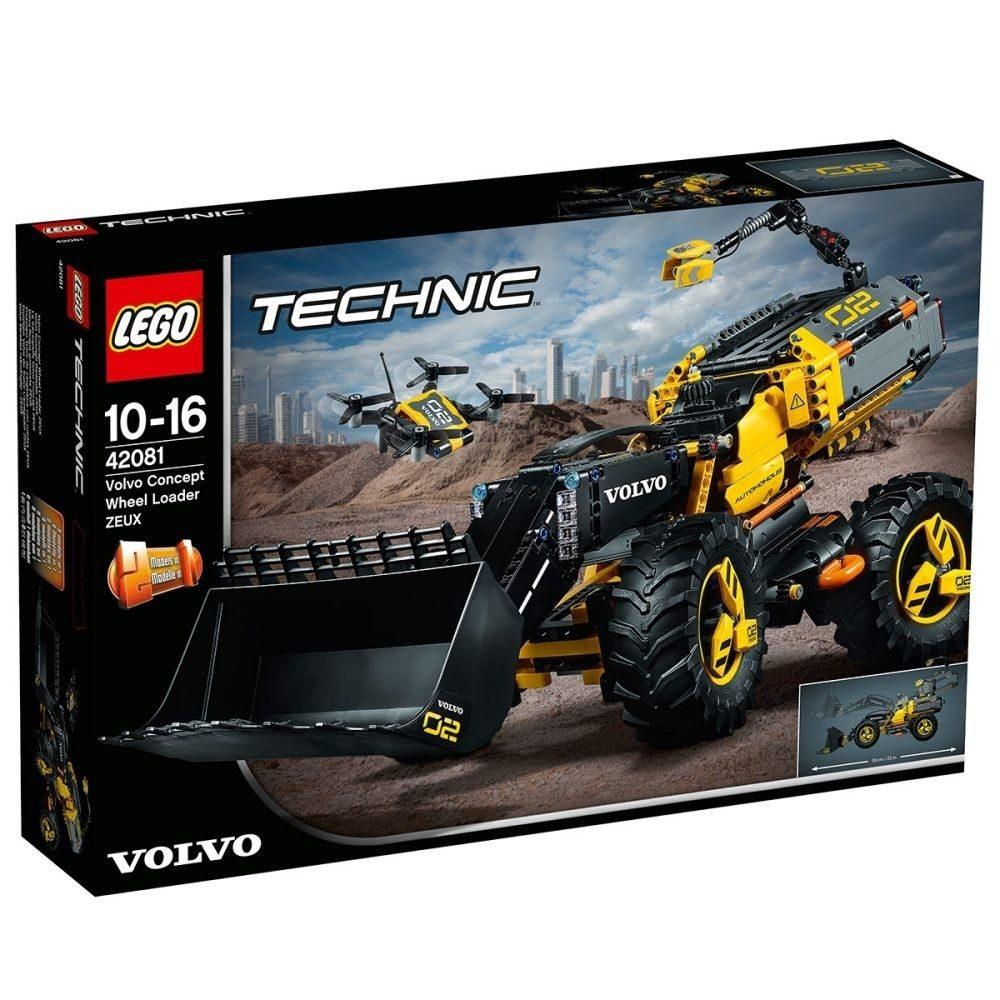 LEGO Technic - Volvo Konzept-Radlader Zeux (42081)