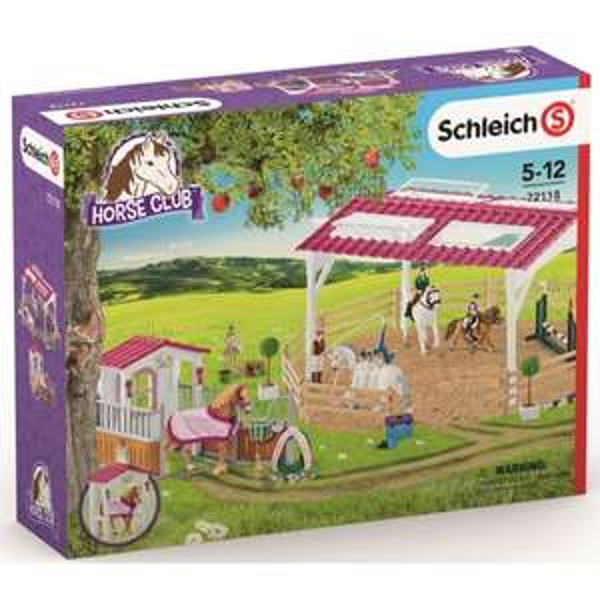 Schleich - 72118 Reitschule mit Pferdebox