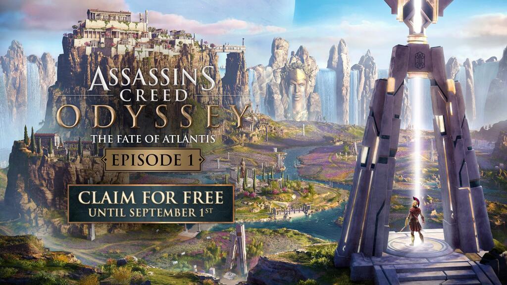 Assassin's Creed Odyssey - Das Schicksal von Atlantis Episode 1 DLC (PS4 / Xbox One / PC) komplett kostenlos!