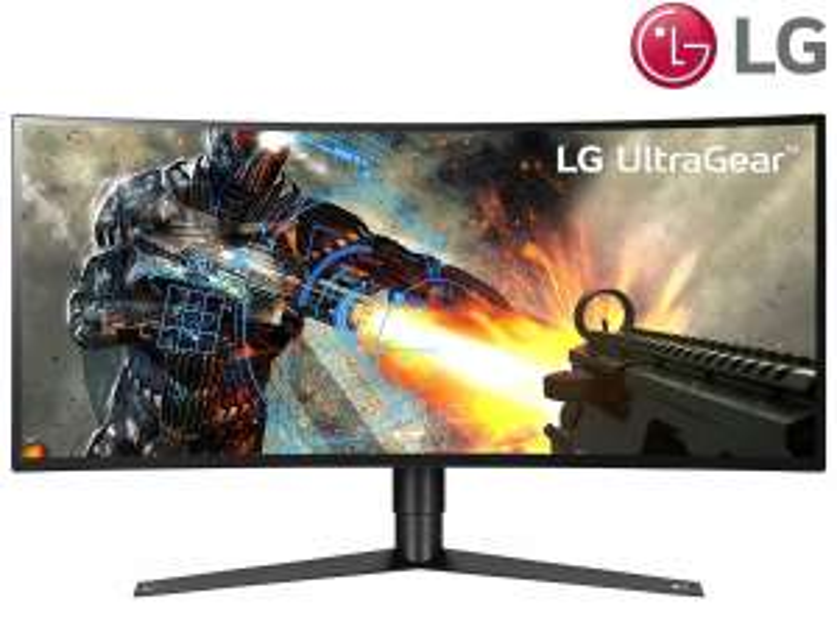 "LG 34"" UltraGear Gaming-Monitor | QHD | IPS | Curved | 120 Hz G-Sync"