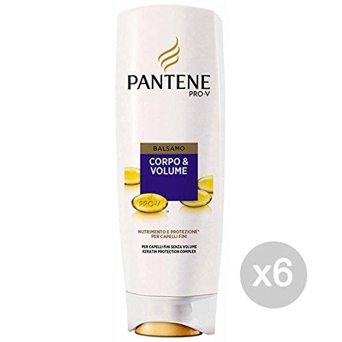 www.AMAZON.de l Set 6 Pantene Spülung Körper & Volumen 200 ml Pflege und Behandlung der Haar