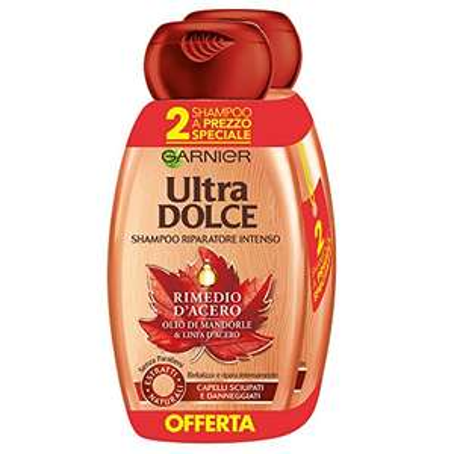 www.AMAZON.de l Beauty-Jäger l 6 Stück Garnier - Ultra süßes Shampoo 300 ml [3 X 2er-Pack] Mandelöl und Ahornsirup