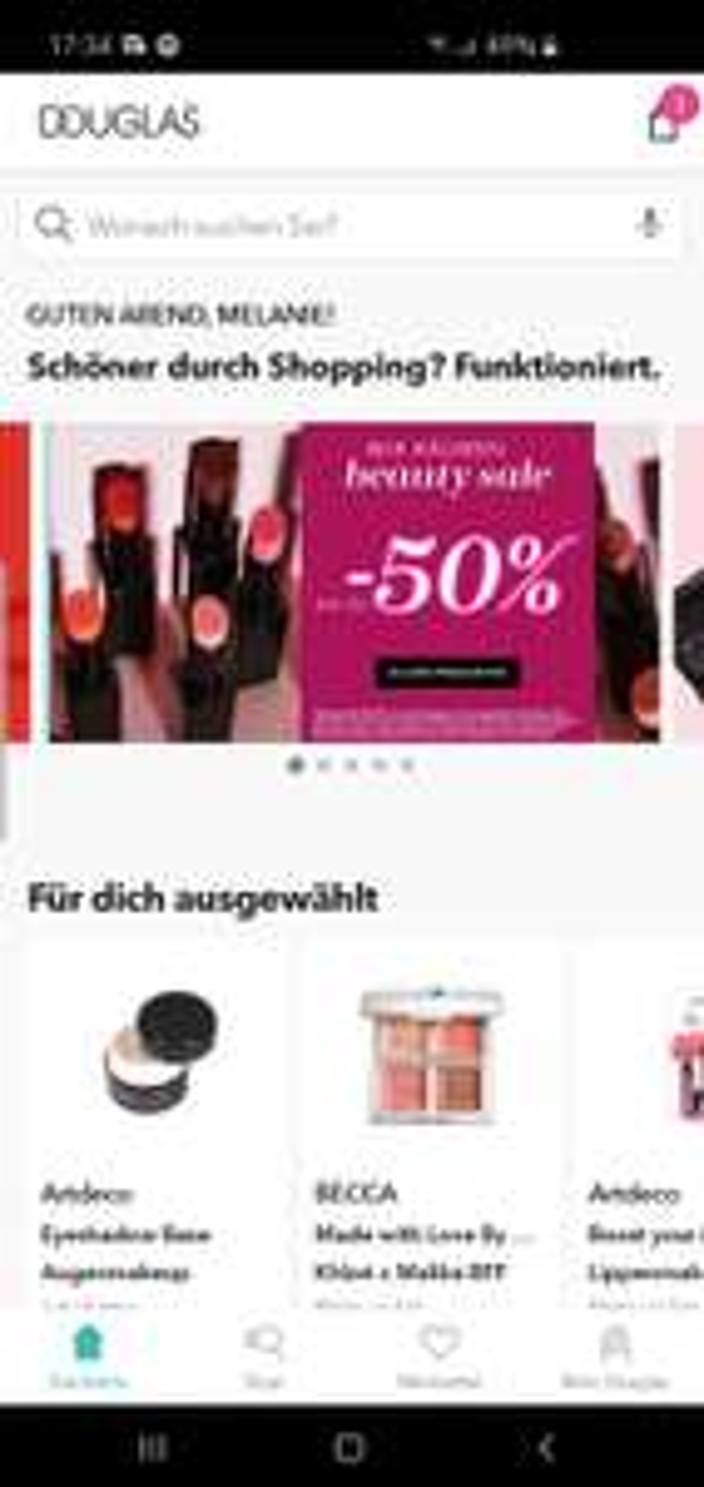 Beauty Sale bei Douglas, bis zu -50% auf viele MAC Produkte, wie auch andere Produkte