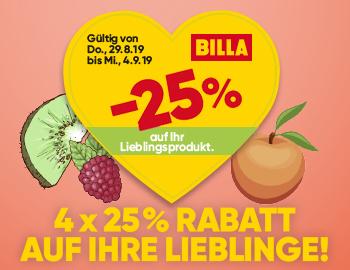 Billa Sticker die nächsten
