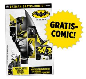 Gratis Comic am Batman Tag, 21. September