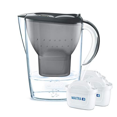 BRITA Wasserfilter Starterpaket Marella, inkl. 3 Maxtra+ Filterkartuschen