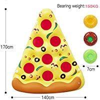 [SommerSale] Riesen Pizza Luftmatraze 170x140cm