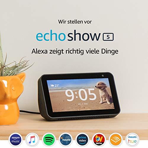 Echo Show 5 – je 78,24€ anstatt 89,99€