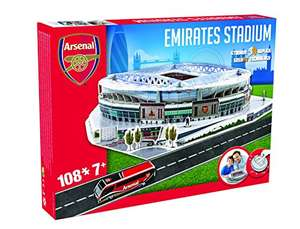 Emirates Stadion Arsenal London 3D Puzzle