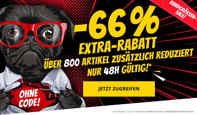 Sportspar: 66% Extra Rabatt auf über 800 bereits Reduzierte Artikel