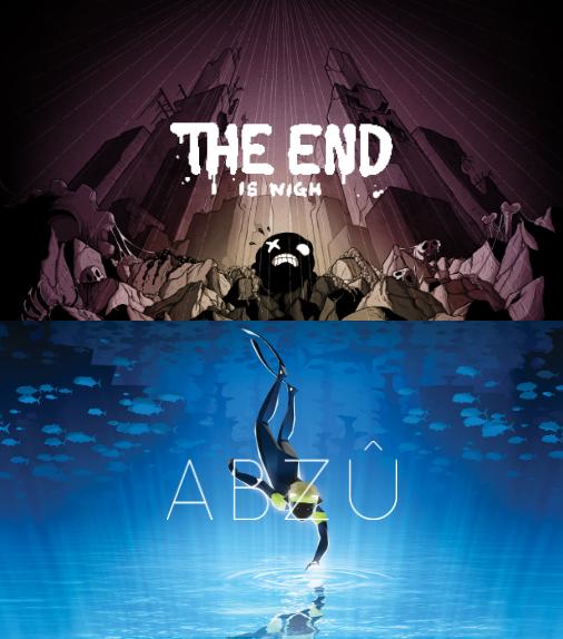 "Epicgames.com: ""The End is Nigh"" & ""Abzu"", gratis"