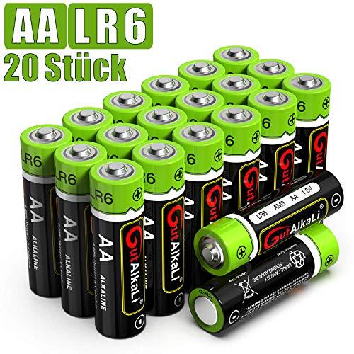 20x AA GutAlkaLi Batterien für 3,49€