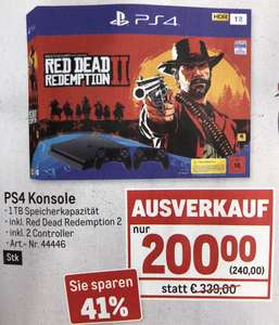 Hammer PS4-Deal! 1 TB inkl. 2 Controller + Red Dead Redemption 2