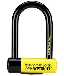 Kryptonite New York Fahgettaboudit Mini Fahrradschloss, Gelb, Small