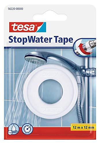 36x Tesa 56220 Stopwaterband, 12 m x 12 mm, Weiß